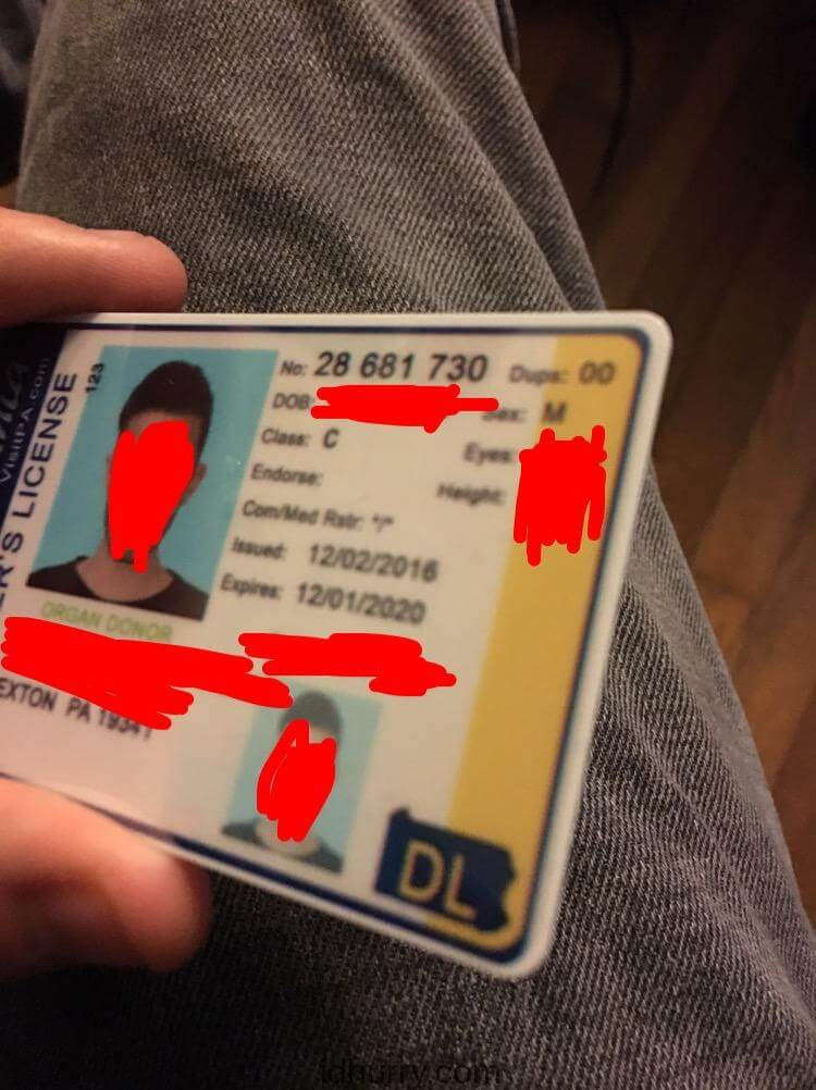 Where to buy Pennsylvania Fake ID