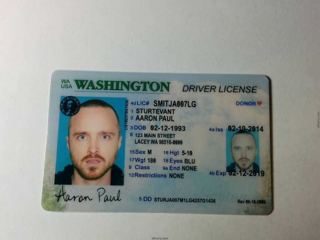 Where to buy Washington Fake ID