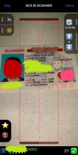 illinois fake id